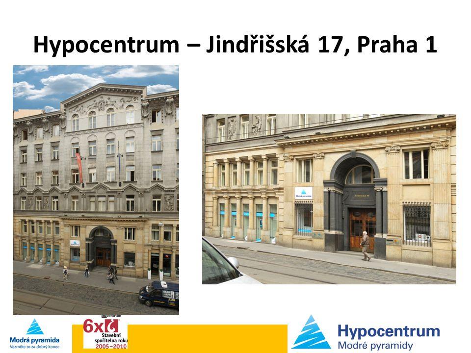 Hypocentrum – Jindřišská 17, Praha 1