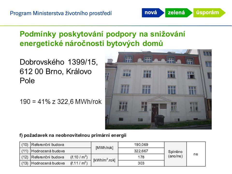 Dobrovského 1399/15, 612 00 Brno, Královo Pole