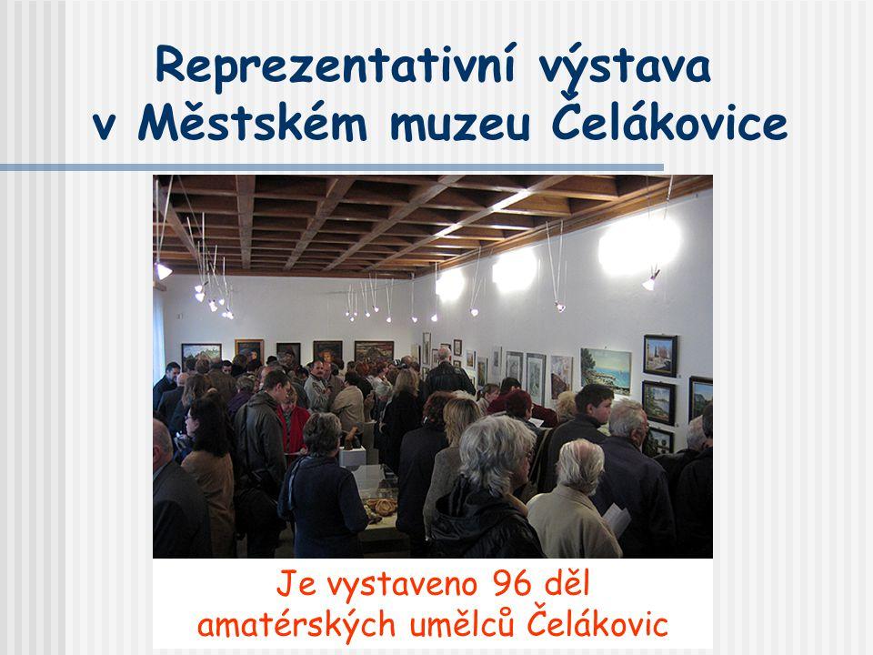 Reprezentativní výstava v Městském muzeu Čelákovice