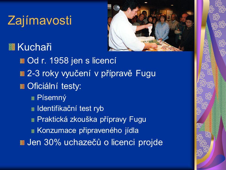 Zajímavosti Kuchaři Od r. 1958 jen s licencí
