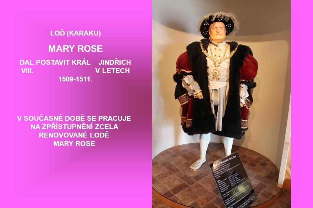 DAL POSTAVIT KRÁL JINDŘICH VIII. V LETECH 1509-1511.