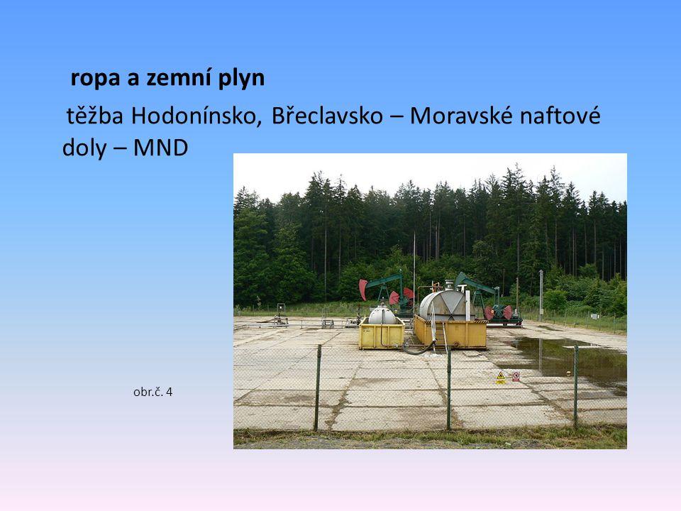 těžba Hodonínsko, Břeclavsko – Moravské naftové doly – MND