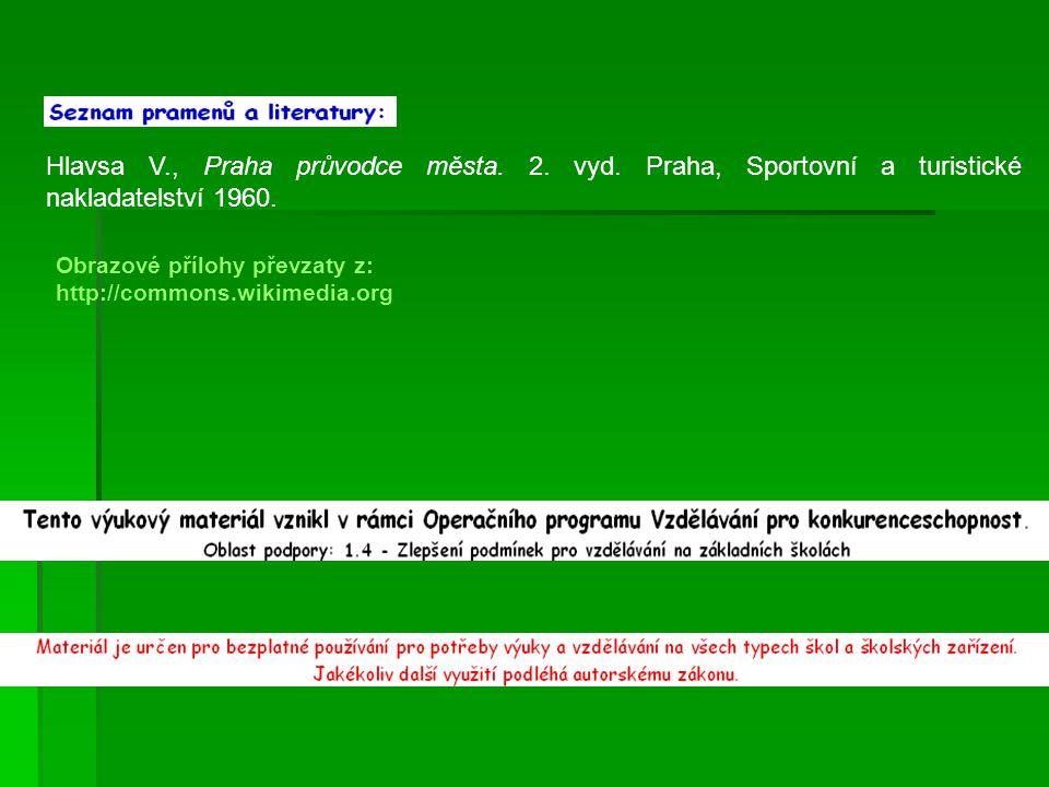 Hlavsa V. , Praha průvodce města. 2. vyd