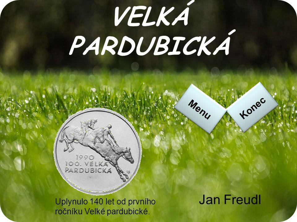 VELKÁ PARDUBICKÁ Jan Freudl Konec Menu