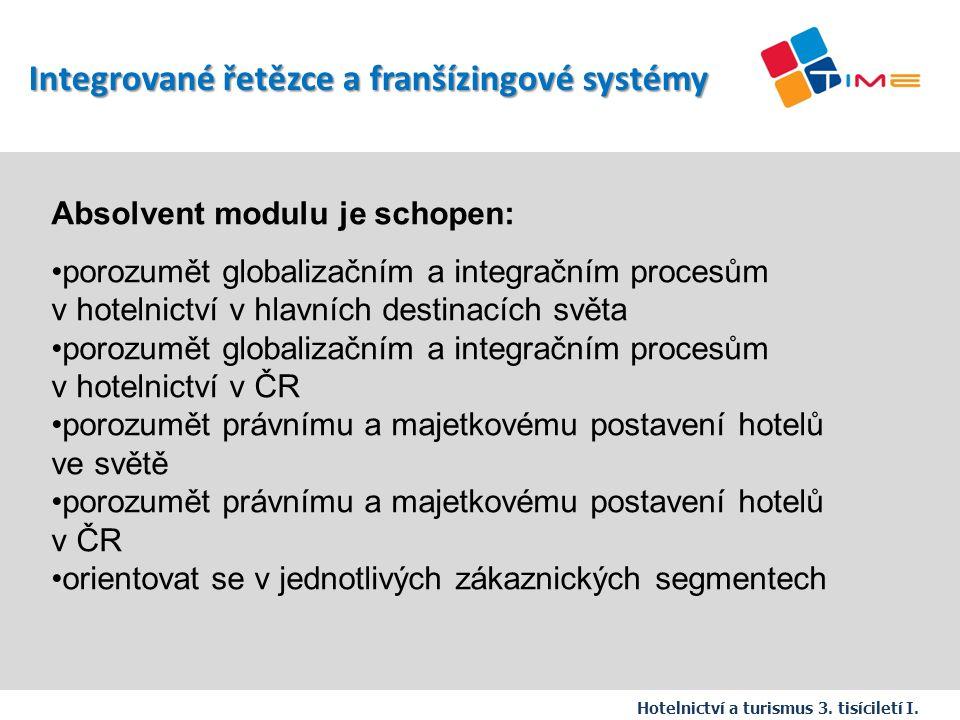 Integrované řetězce a franšízingové systémy