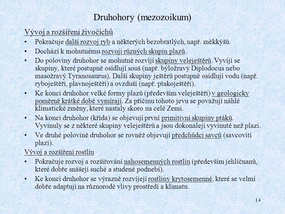 Druhohory (mezozoikum)