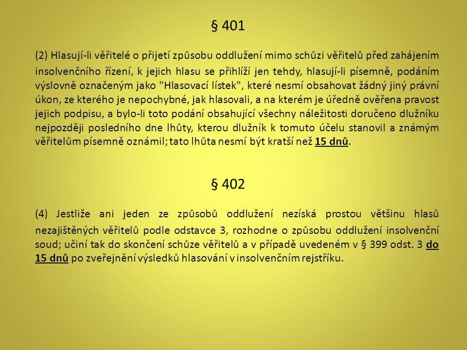 § 401