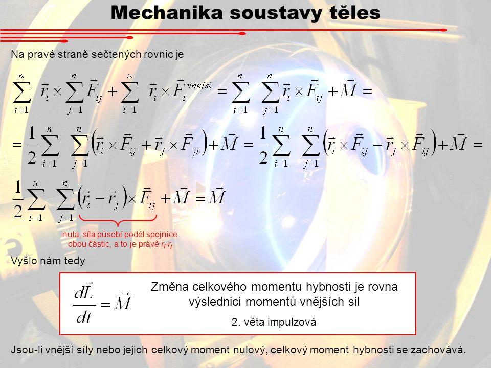 Mechanika soustavy těles