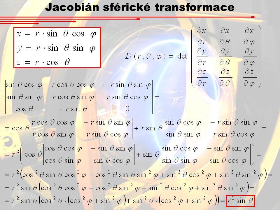 Jacobián sférické transformace