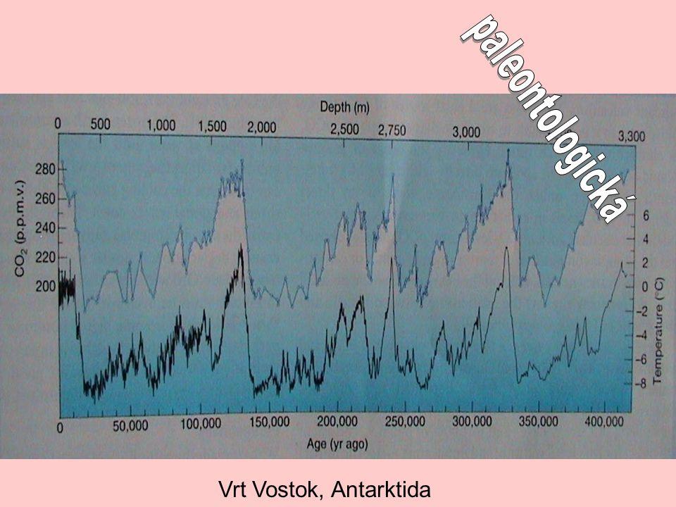 paleontologická Vrt Vostok, Antarktida