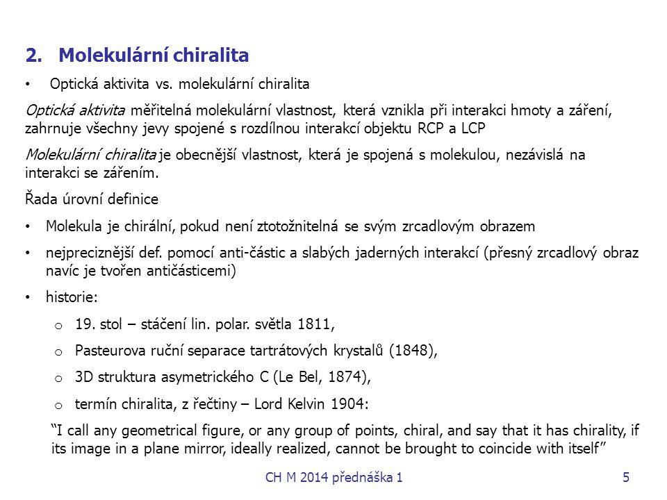 Molekulární chiralita