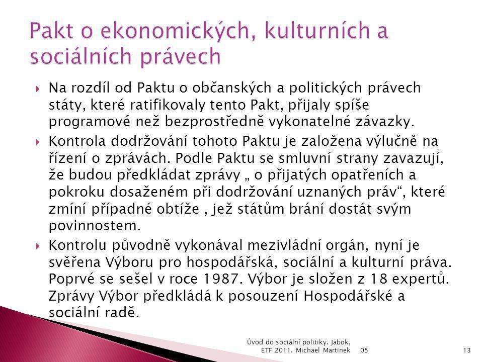 Pakt o ekonomických, kulturních a sociálních právech