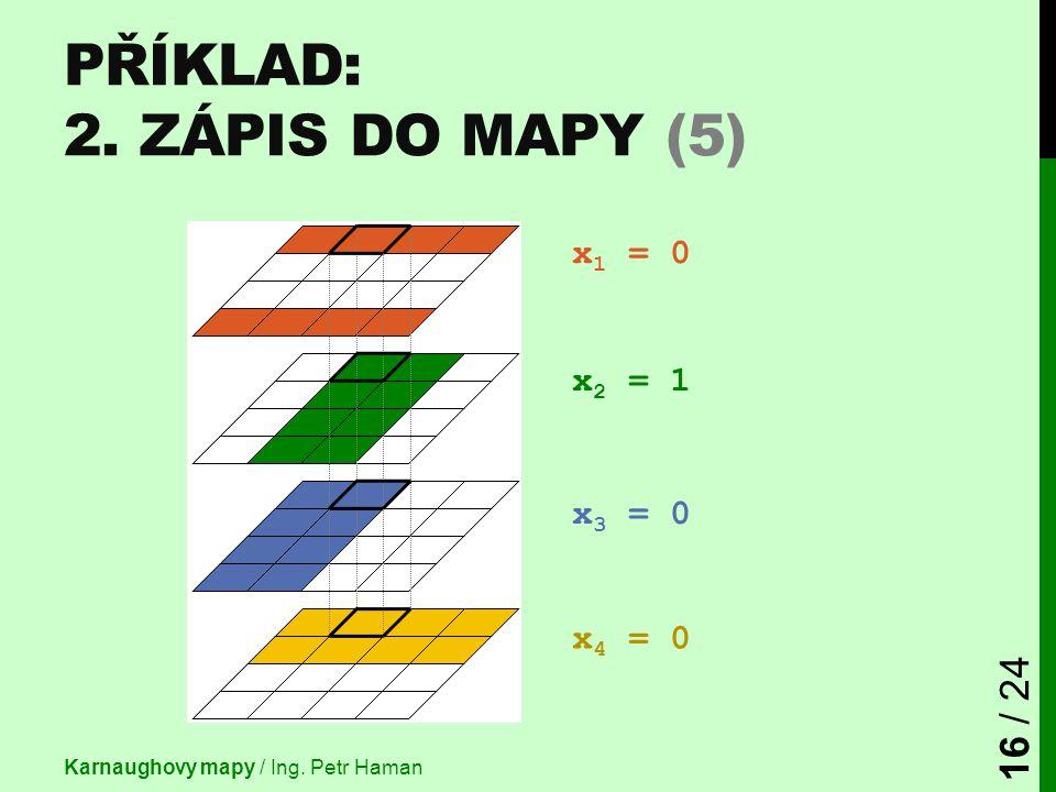 Příklad: 2. Zápis do mapy (5)