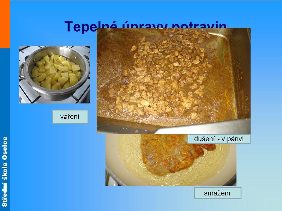 Tepelné úpravy potravin