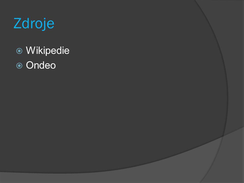 Zdroje Wikipedie Ondeo