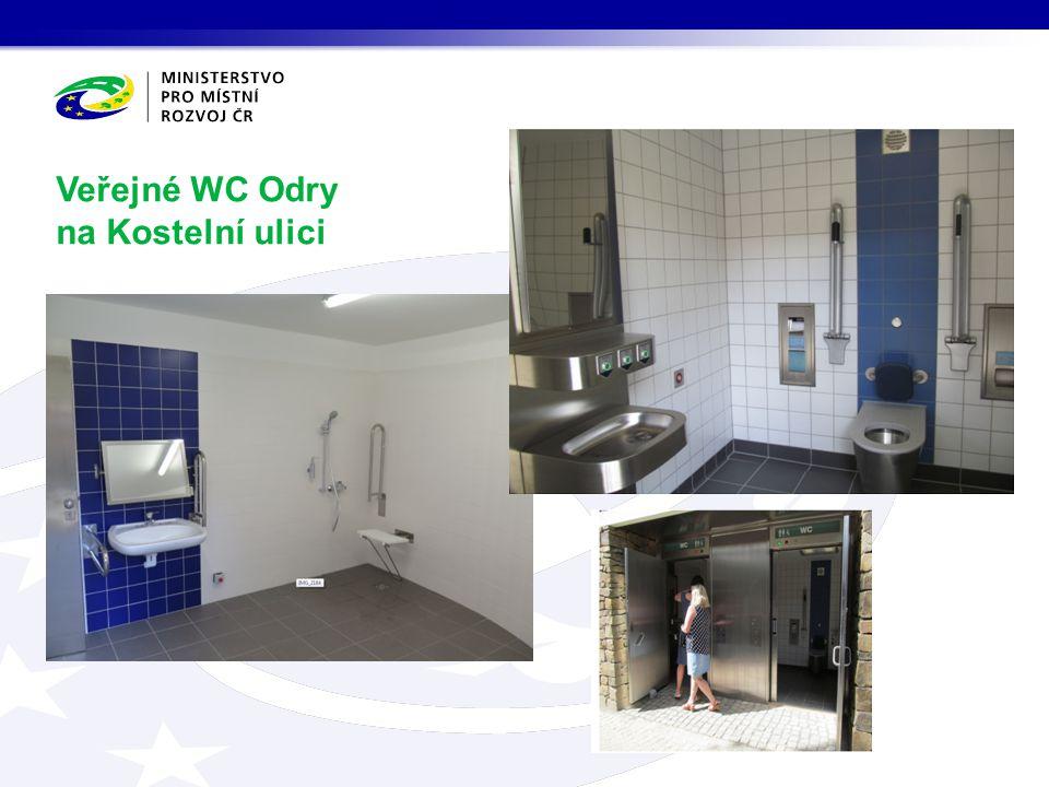 Veřejné WC Odry na Kostelní ulici
