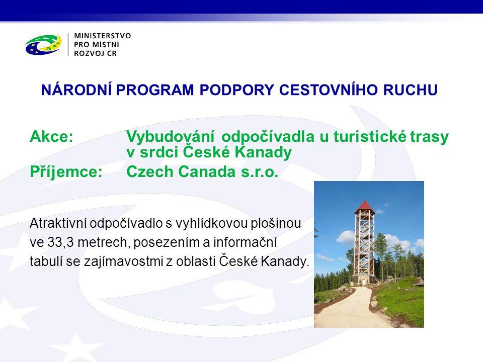 národní program podpory cestovního ruchu