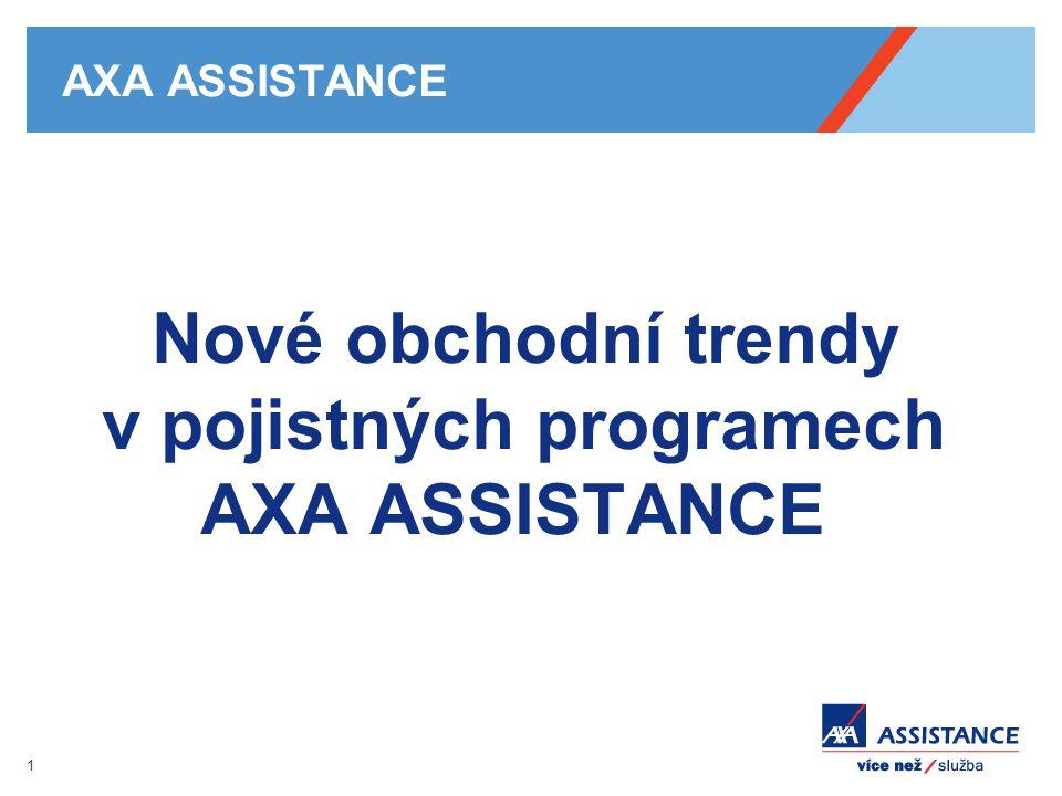 Nové obchodní trendy v pojistných programech AXA ASSISTANCE