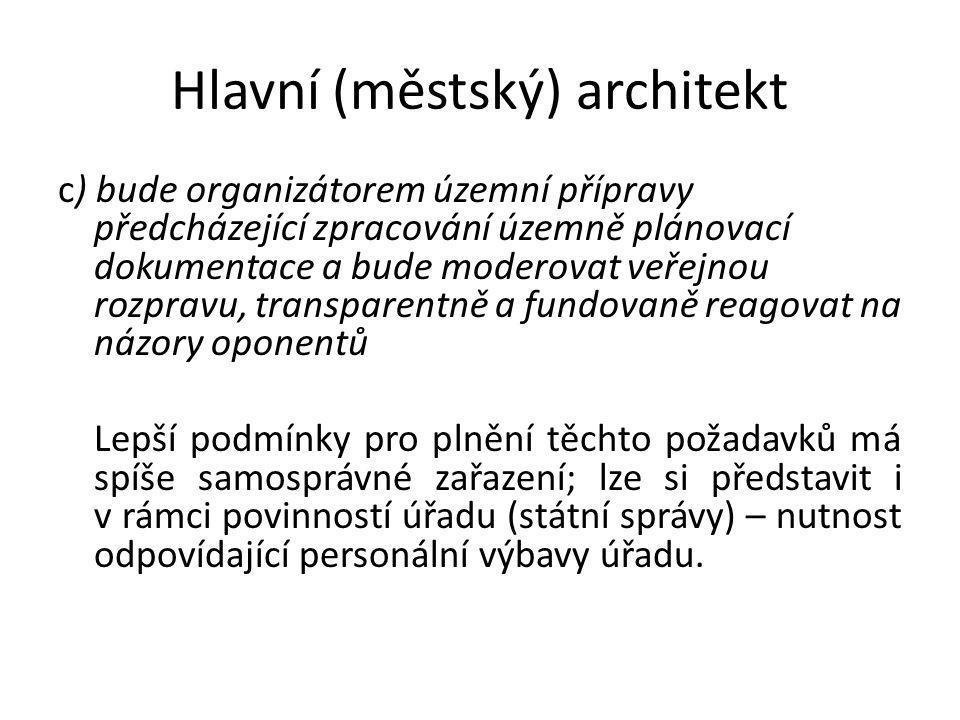 Hlavní (městský) architekt