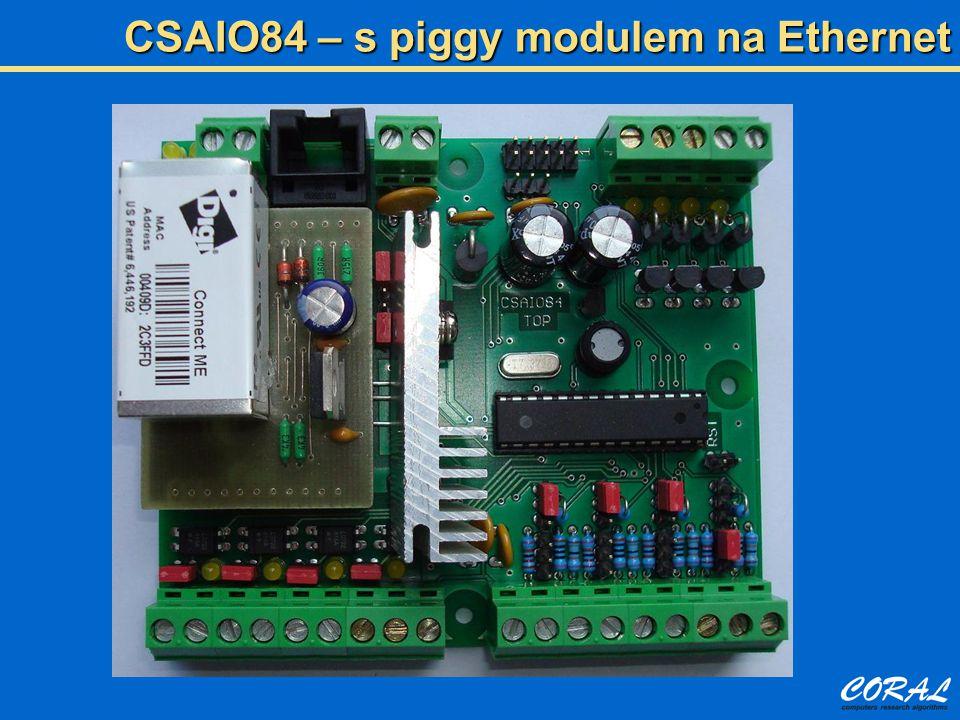 CSAIO84 – s piggy modulem na Ethernet