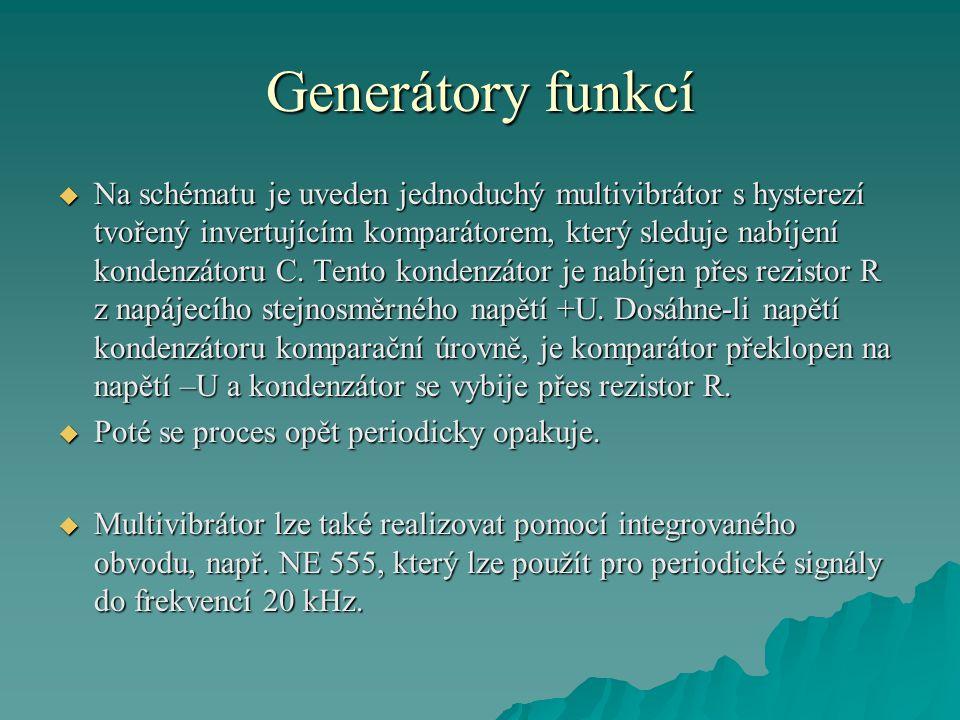 Generátory funkcí