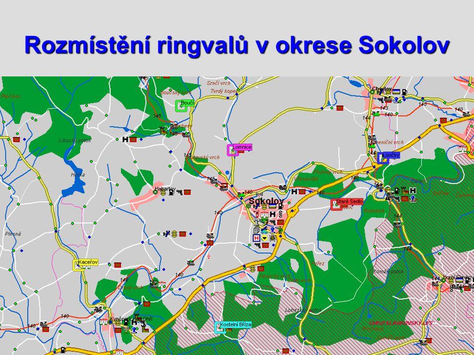 Rozmístění ringvalů v okrese Sokolov