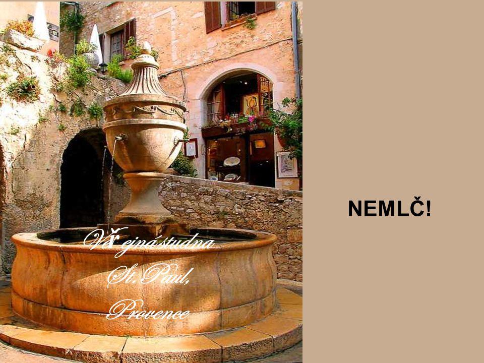 Veřejná studna St.Paul, Provence