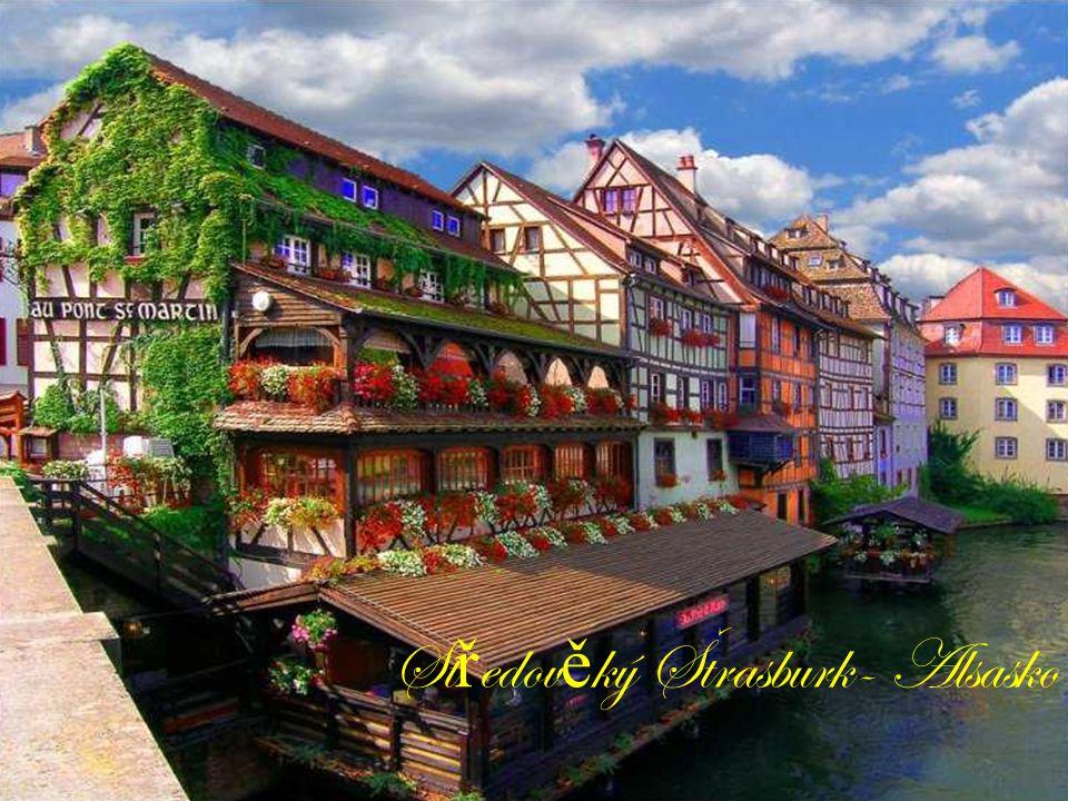 Středověký Štrasburk- Alsasko