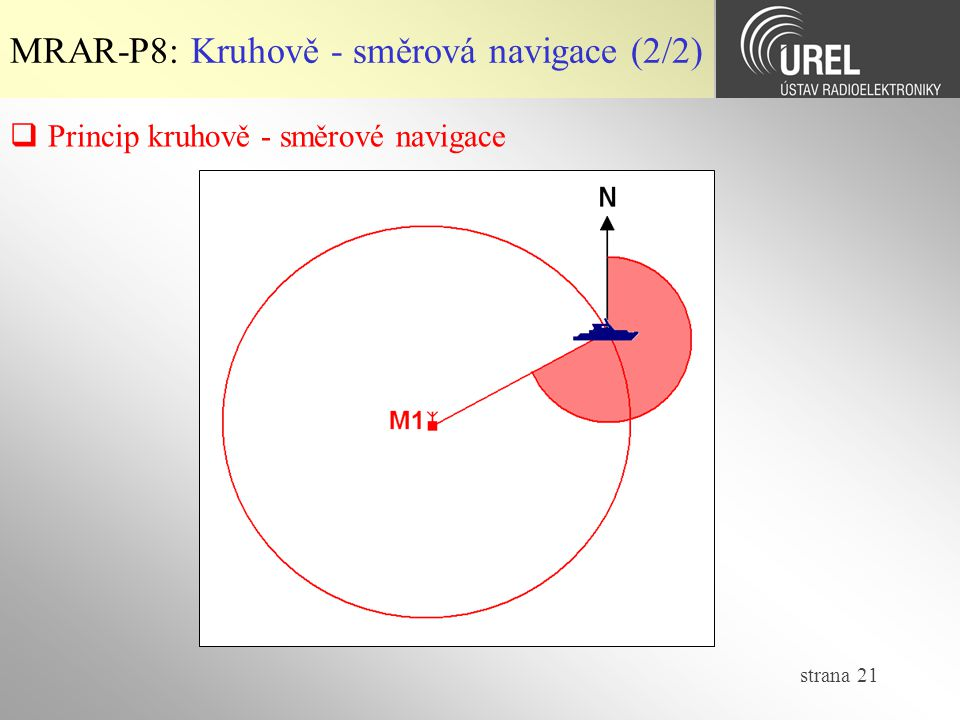 MRAR-P8: Kruhově - směrová navigace (2/2)