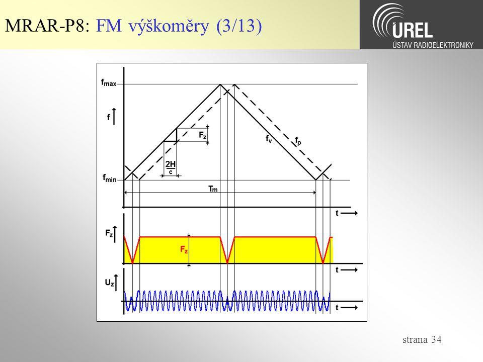 MRAR-P8: FM výškoměry (3/13)