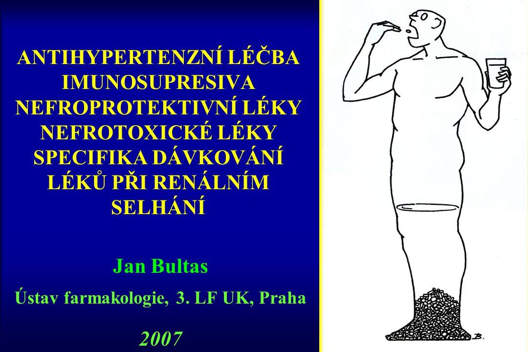 Jan Bultas Ústav farmakologie, 3. LF UK, Praha 2007