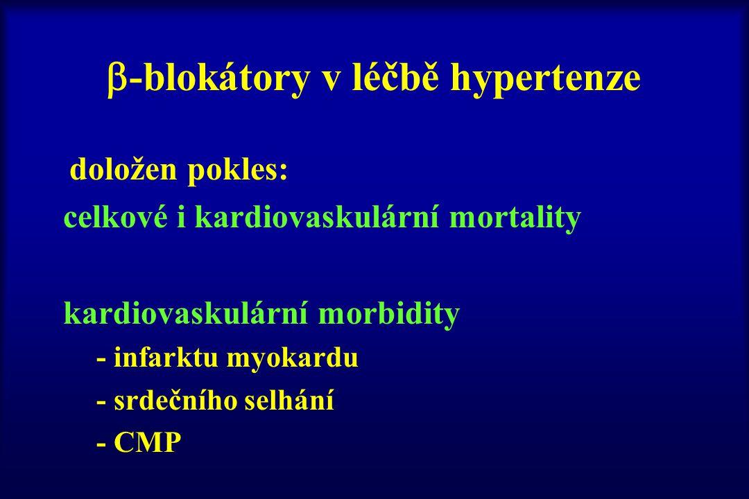 -blokátory v léčbě hypertenze
