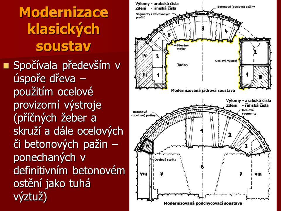 Modernizace klasických soustav
