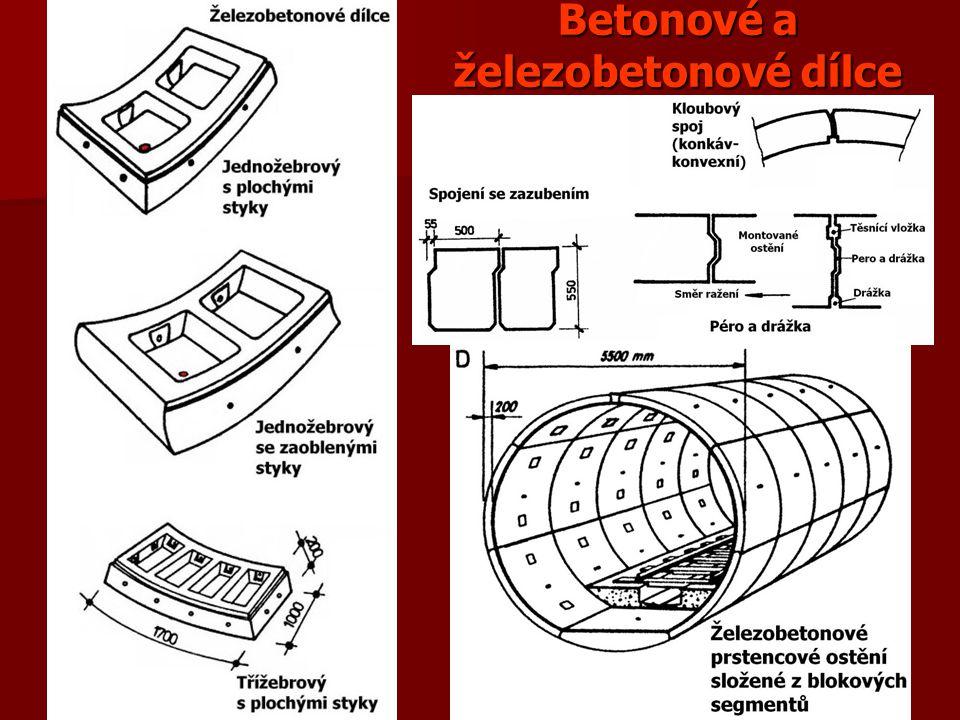 Betonové a železobetonové dílce