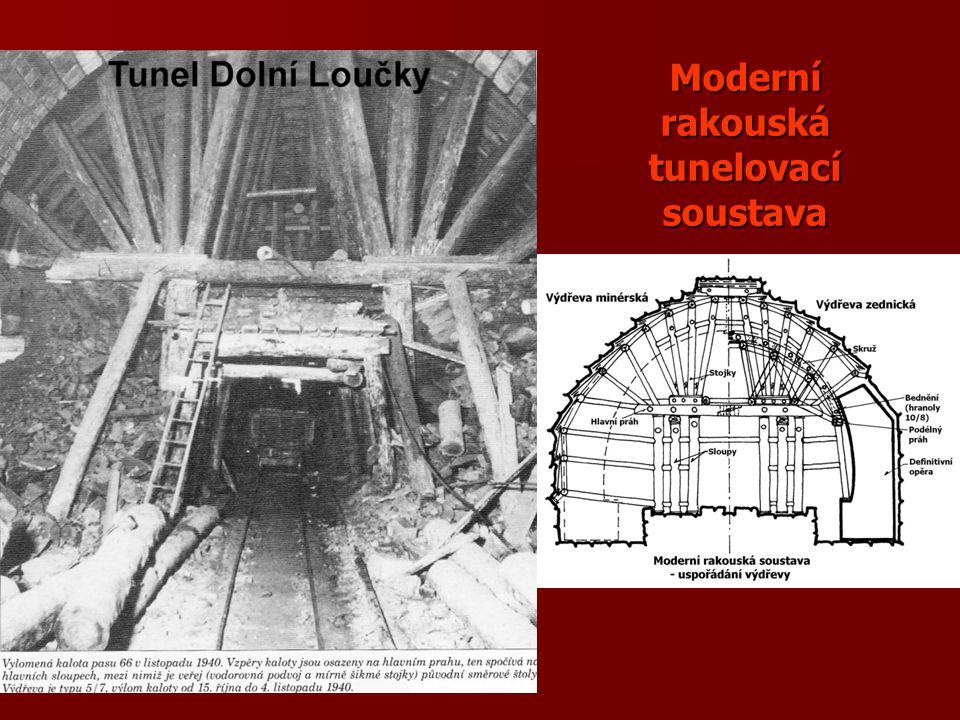 Moderní rakouská tunelovací soustava
