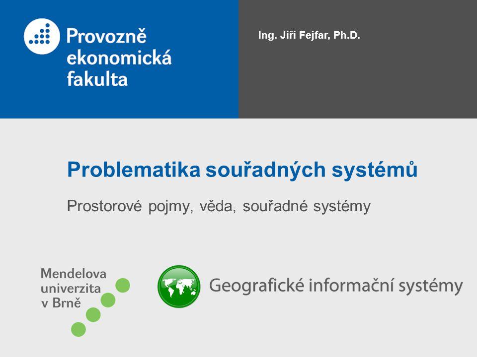 Problematika souřadných systémů