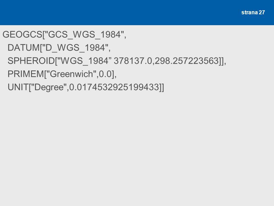 WGS 1984 (ESRI .prj)