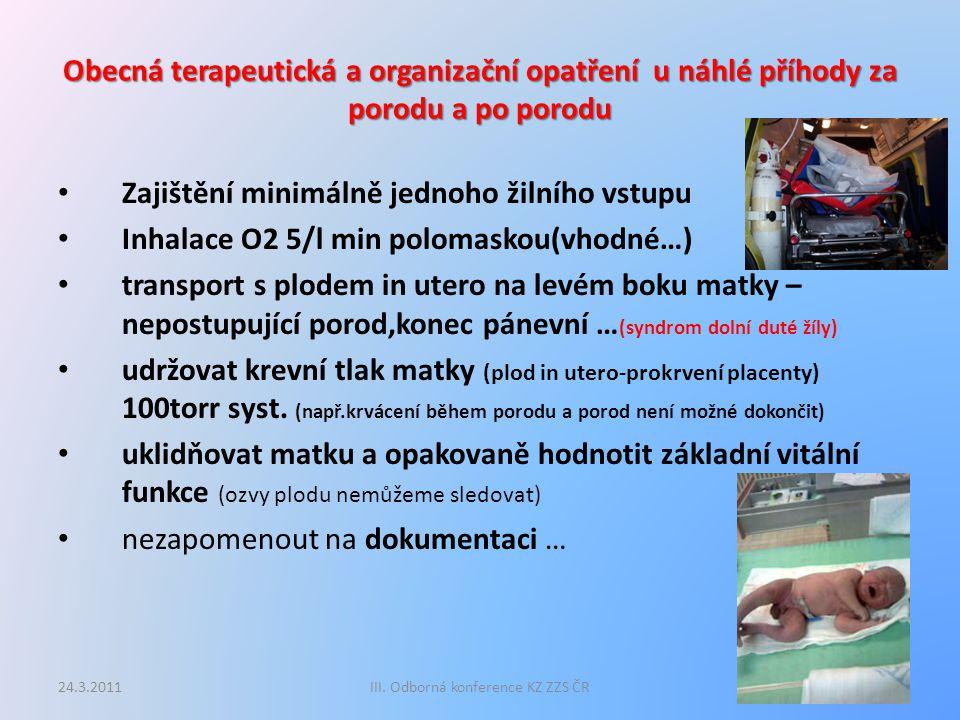 III. Odborná konference KZ ZZS ČR