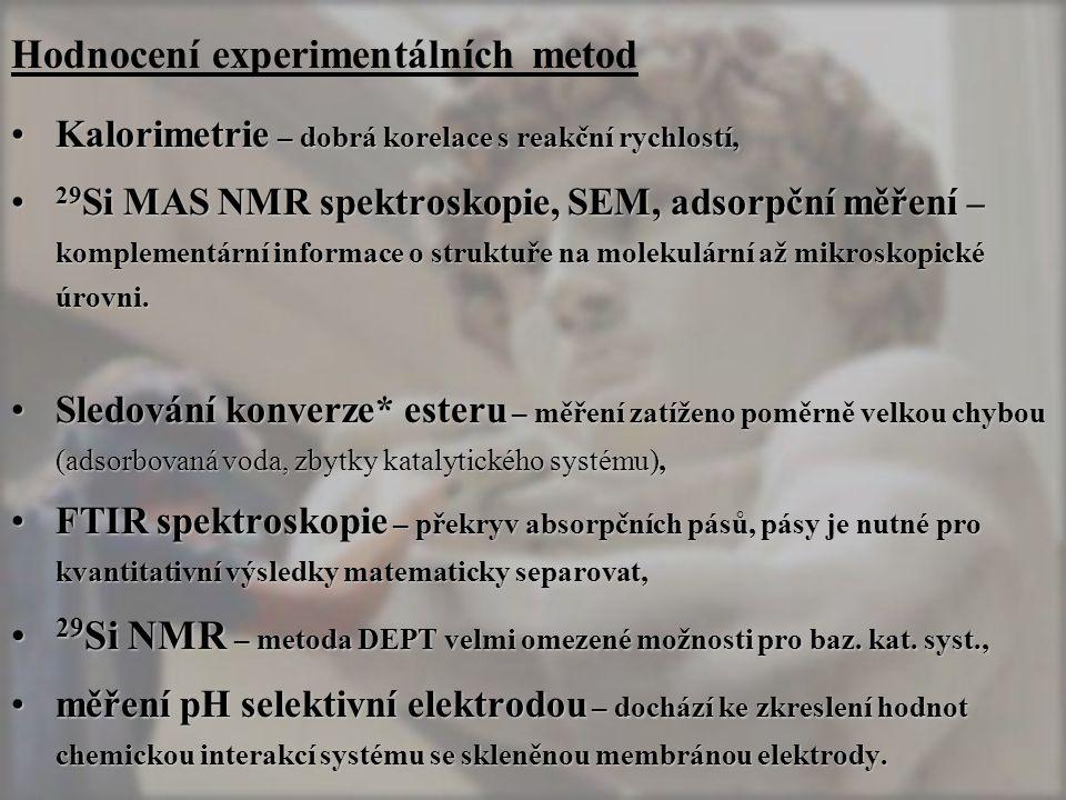 Hodnocení experimentálních metod