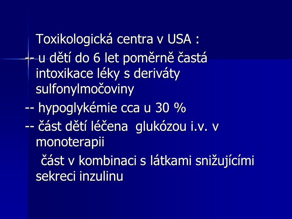 Toxikologická centra v USA :