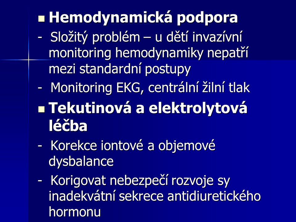 Hemodynamická podpora