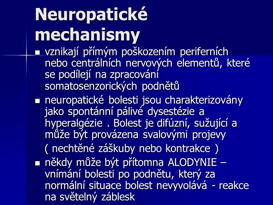 Neuropatické mechanismy