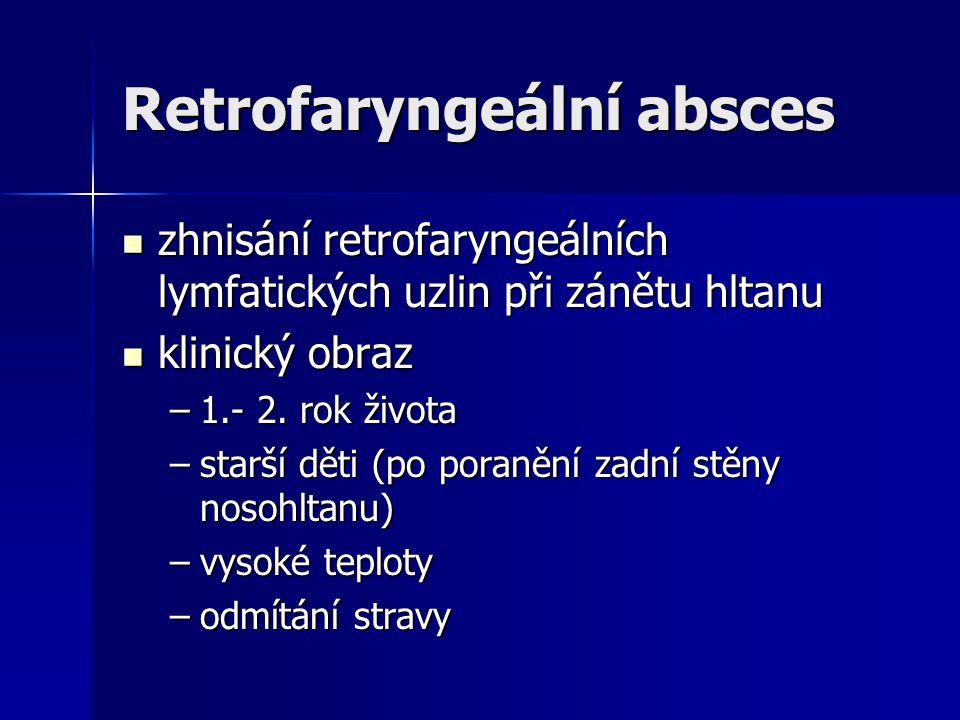 Retrofaryngeální absces