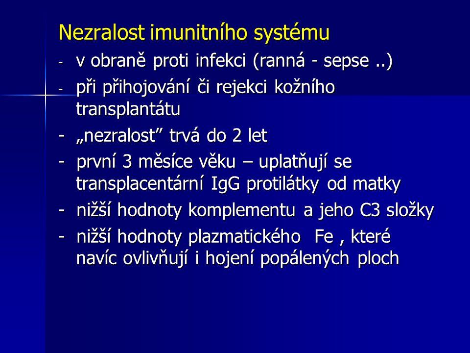 Nezralost imunitního systému
