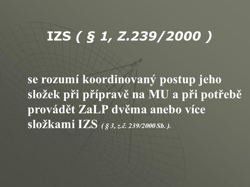 IZS ( § 1, Z.239/2000 )