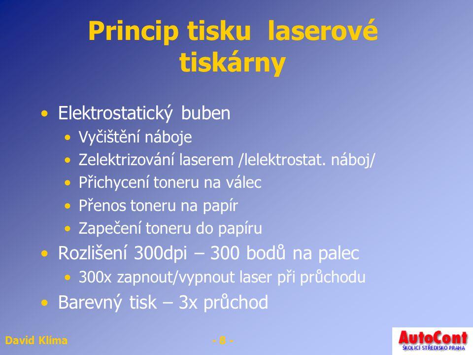 Princip tisku laserové tiskárny