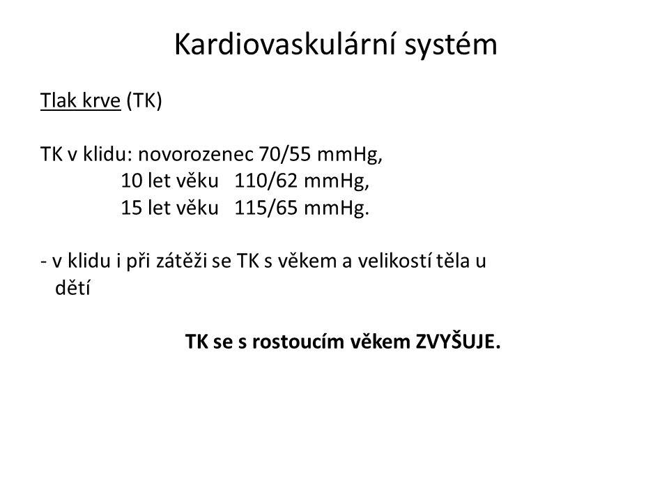 Kardiovaskulární systém