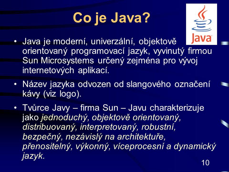 Co je Java