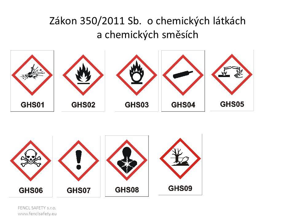 Zákon 350/2011 Sb. o chemických látkách a chemických směsích