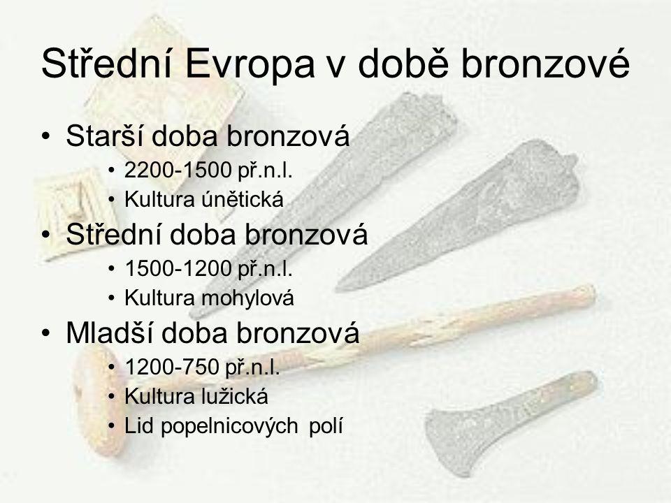 Střední Evropa v době bronzové